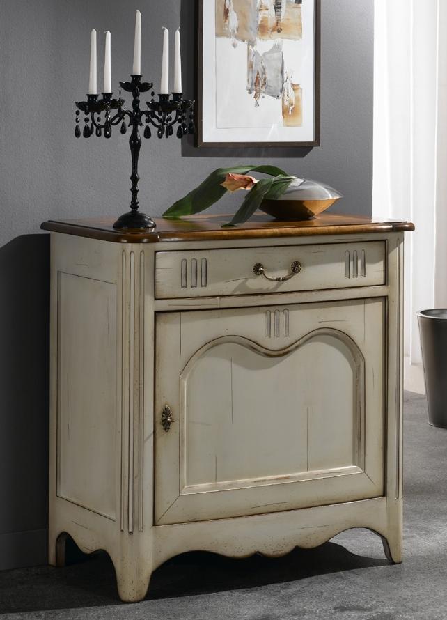 Confiturier laqu blanc ysatis meubles turone for Meuble confiturier