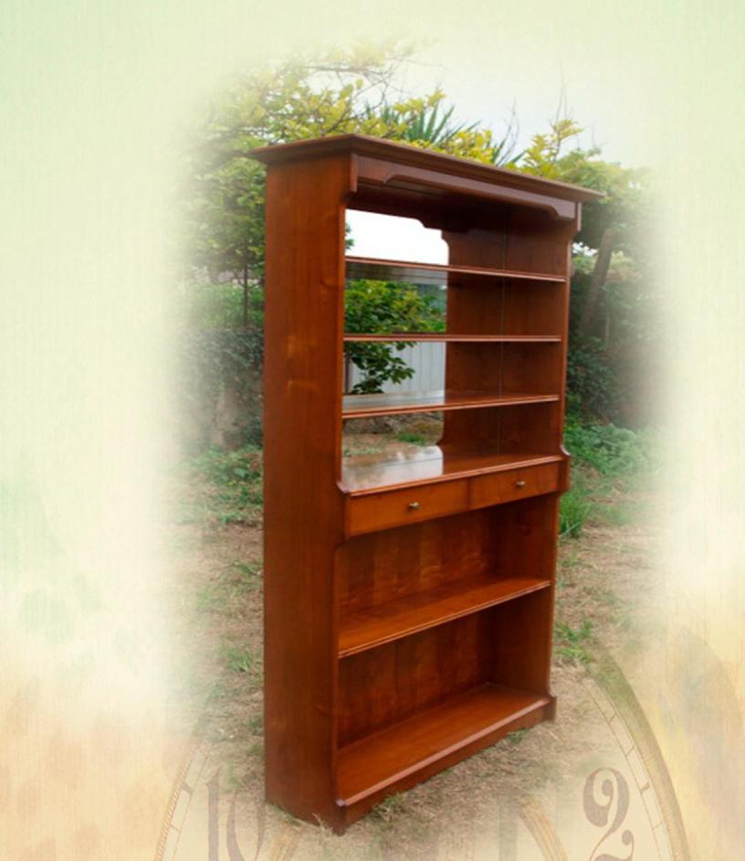 Armoire bar en merisier lola meubles turone for Meuble bar merisier