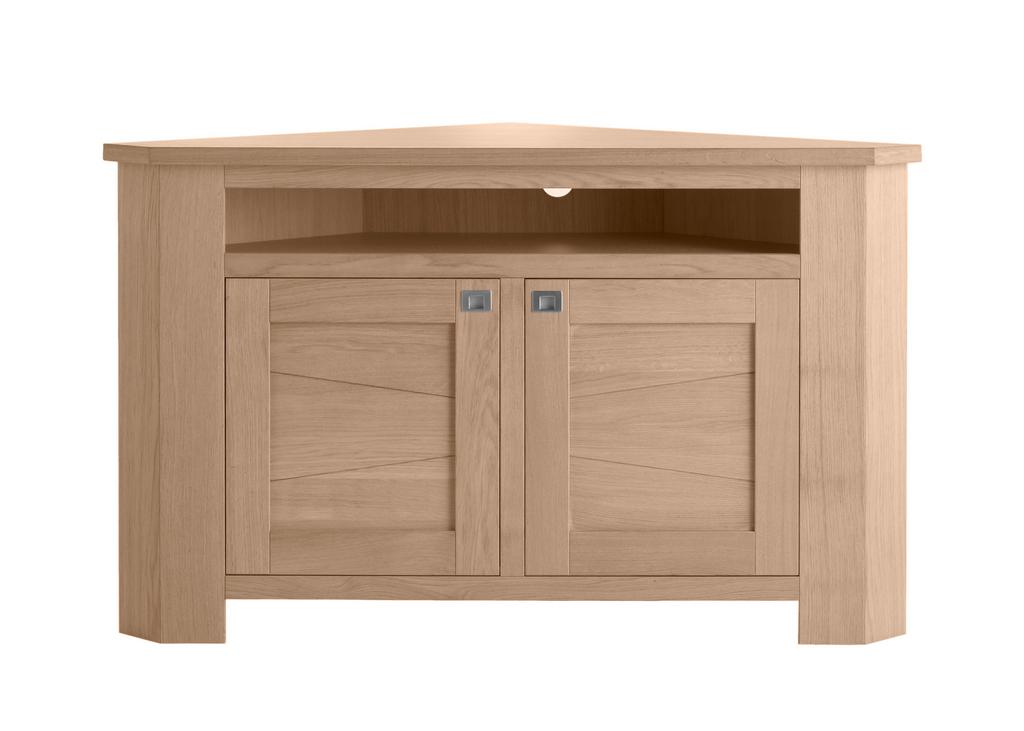 Meuble d 39 angle 2 portes 1 niche fantaisie meubles turone for Meuble d angle une porte