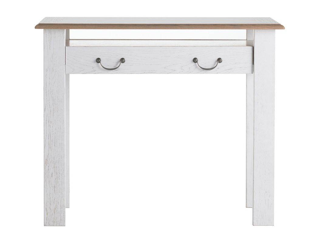 petit meuble console d 39 entr e blanche fantaisie meubles turone. Black Bedroom Furniture Sets. Home Design Ideas