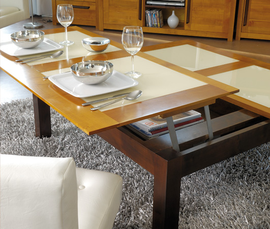 Table Basse Transformable Dinette Meubles Turone