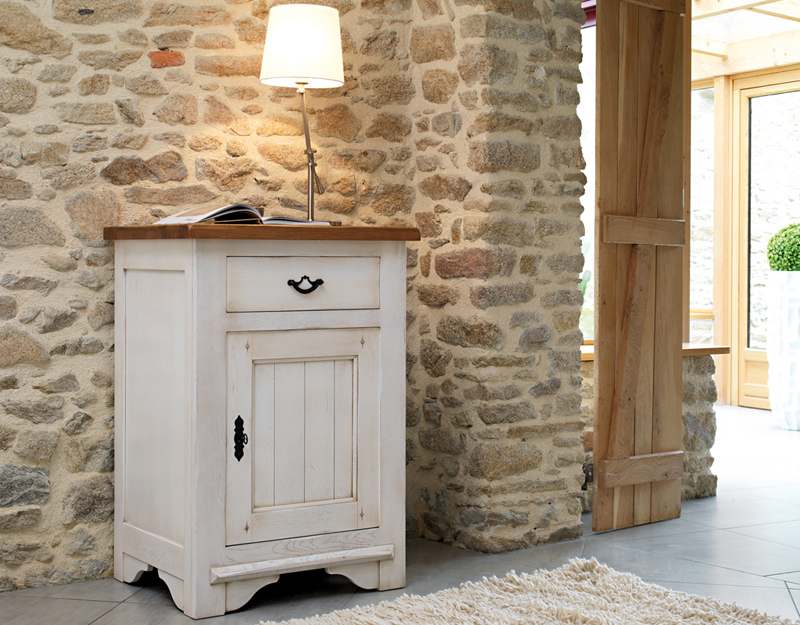 confiturier en ch ne massif 1 porte 1 tiroir victoire meubles turone. Black Bedroom Furniture Sets. Home Design Ideas