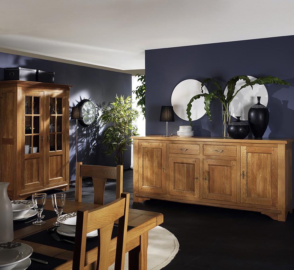 Salle manger ch ne rodez meubles turone for Meubles bernard rodez
