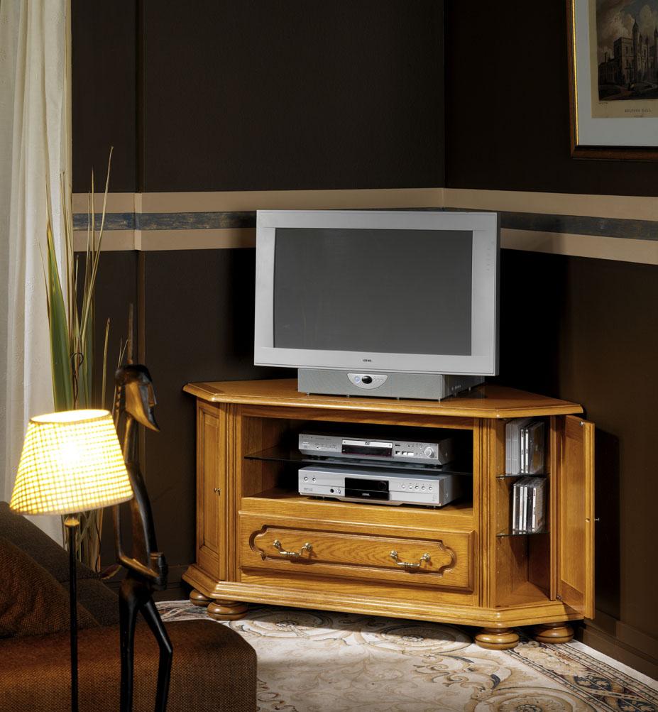Meuble tv d 39 angle salon f licia meubles turone for Meuble angle salon