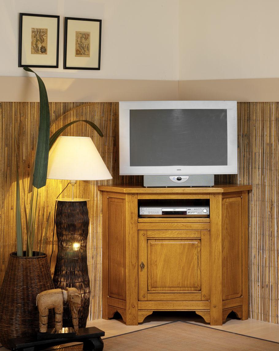 Meuble t l d 39 angle meubles turone - Meuble tele en angle ...