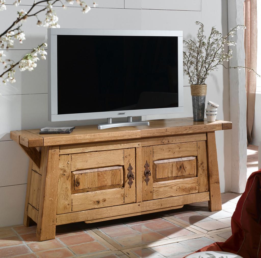 Meuble t l vision 2 portes guillaume meubles turone for Meuble tv 100