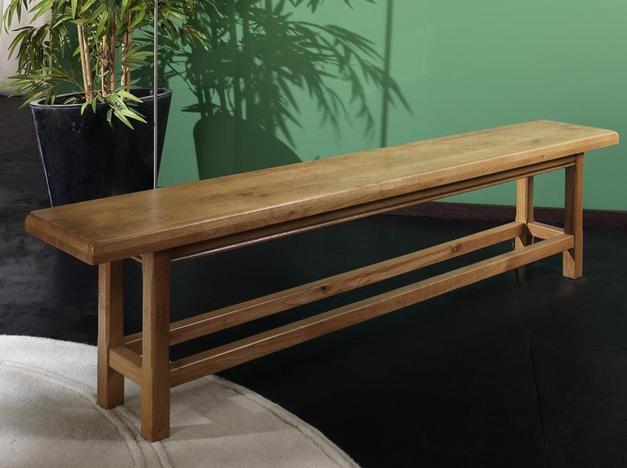 Banc en ch ne massif rodez meubles turone for Meubles bernard rodez