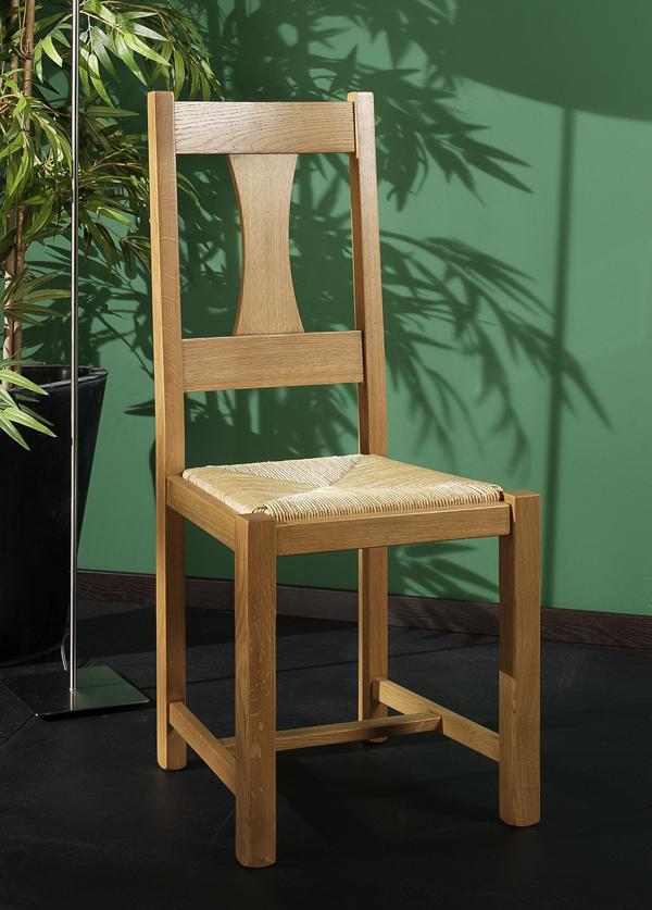 Chaise en ch ne rodez meubles turone for Meubles bernard rodez