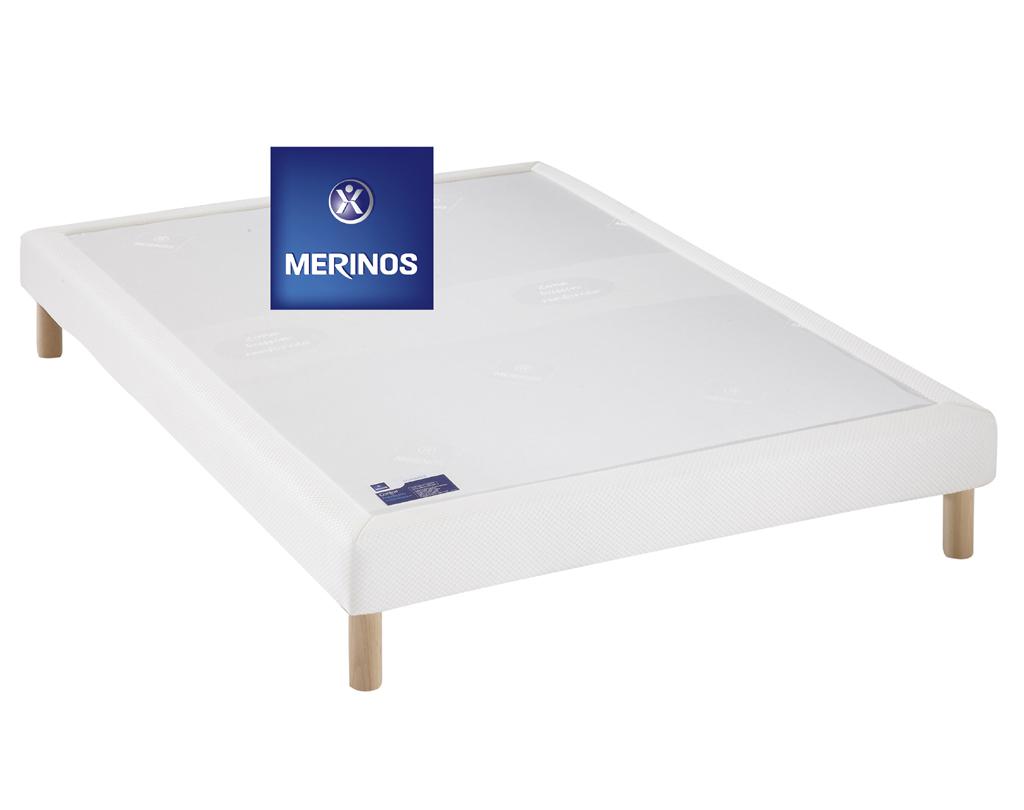 sommier merinos confort medium morphologique meubles turone. Black Bedroom Furniture Sets. Home Design Ideas