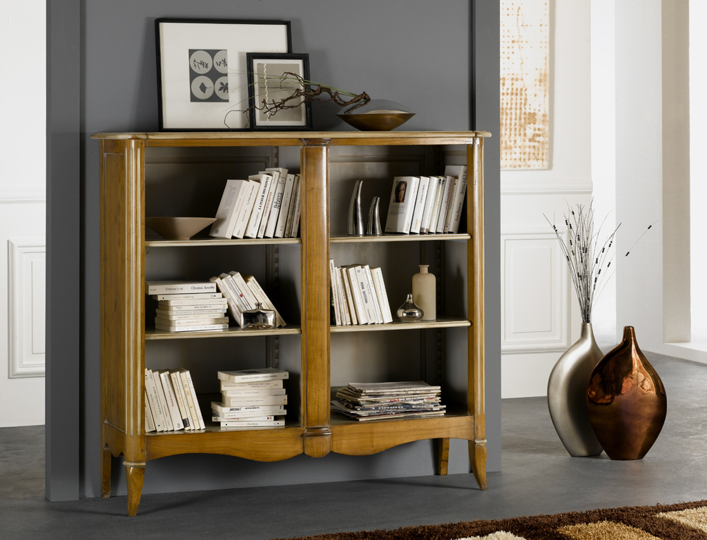 Meuble bibliotheque basse conceptions de maison for Meuble turone