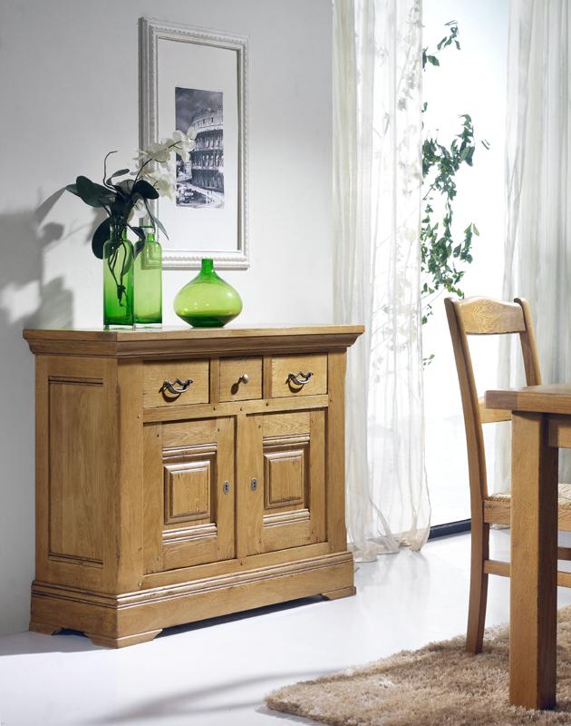 Meubles d 39 entr e en bois 2 portes 3 tiroirs cornouaille meubles turone - Meuble d entree en bois ...