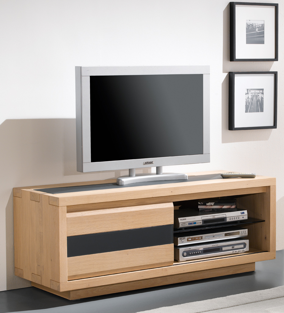 Meuble Tv Angle Chene Massif Maison Design Hosnya Com # Meuble Tv Angle Contemporain