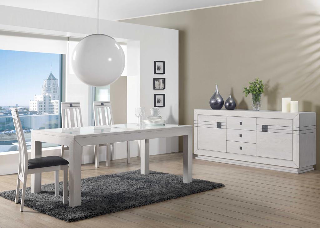 Meuble bois blanc salle a manger 20171025005003 for Salle a manger blanc et bois