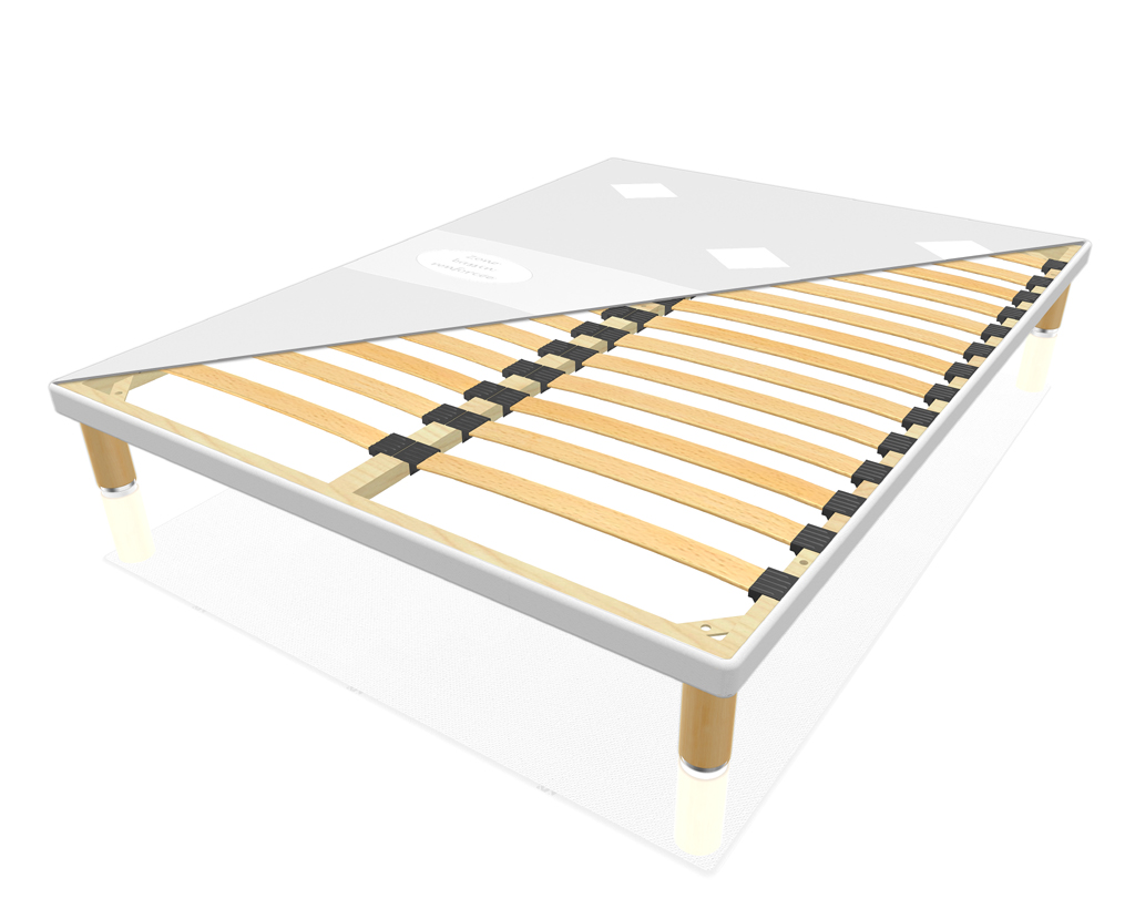 sommier merinos extra plat tapissier lattes meubles turone. Black Bedroom Furniture Sets. Home Design Ideas