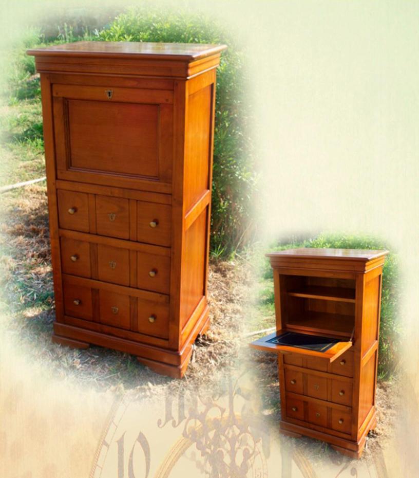 Petit secr taire classeur lola meubles turone for Petit secretaire meuble