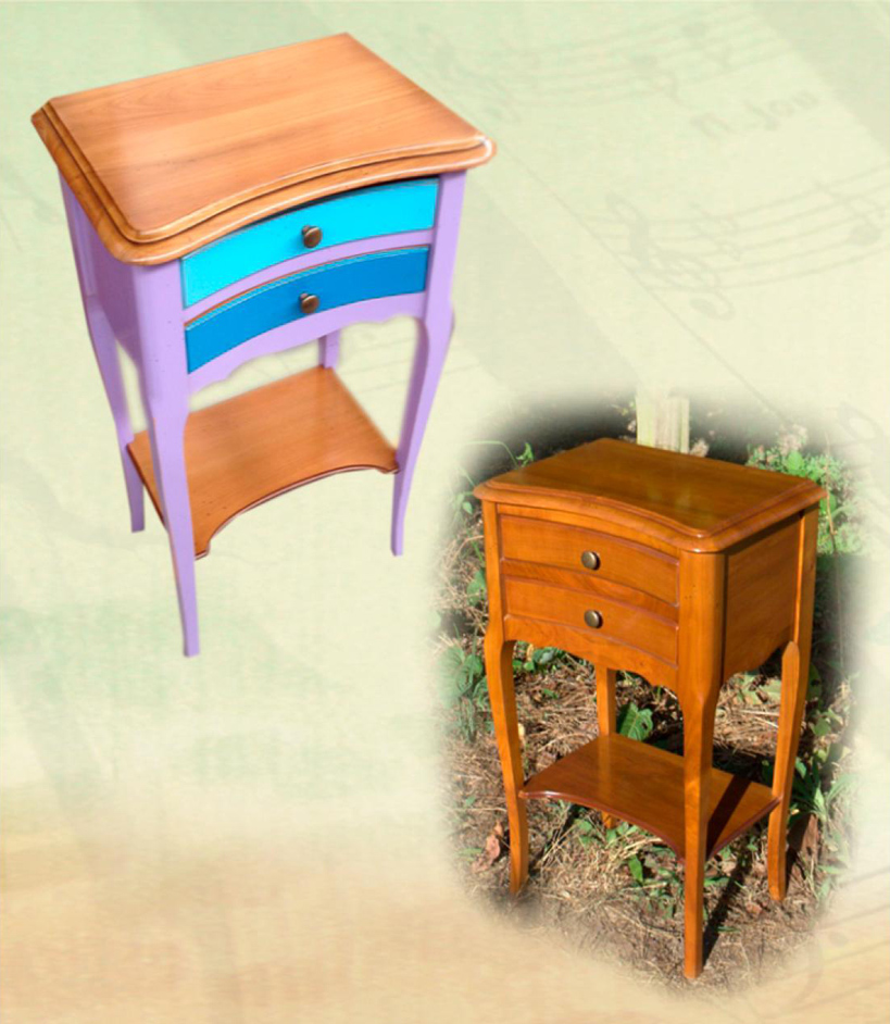 console en merisier donatello meubles turone. Black Bedroom Furniture Sets. Home Design Ideas