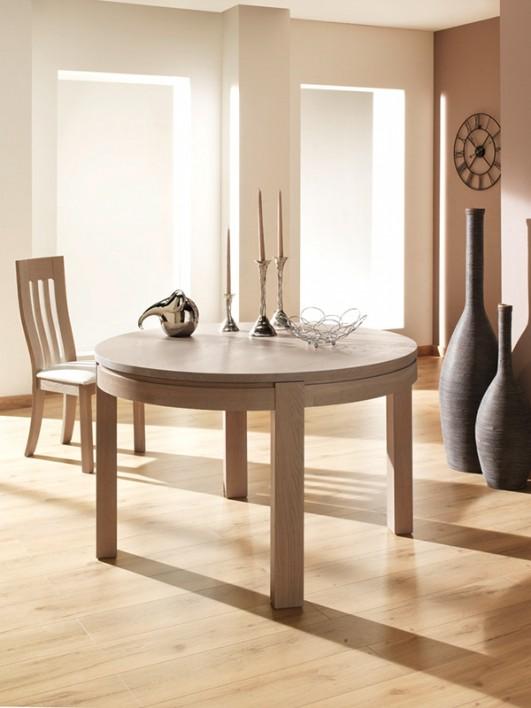 table ronde en c ramique ta ss meubles turone. Black Bedroom Furniture Sets. Home Design Ideas
