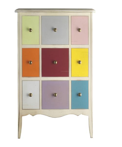 Meuble 3 tiroirs cl lia meubles turone for Meuble a tiroirs multiples