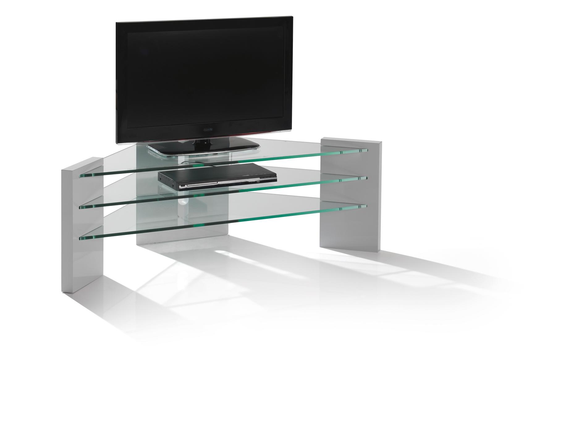 Meuble tv d 39 angle blu ray meubles turone - Meuble rangement blu ray ...