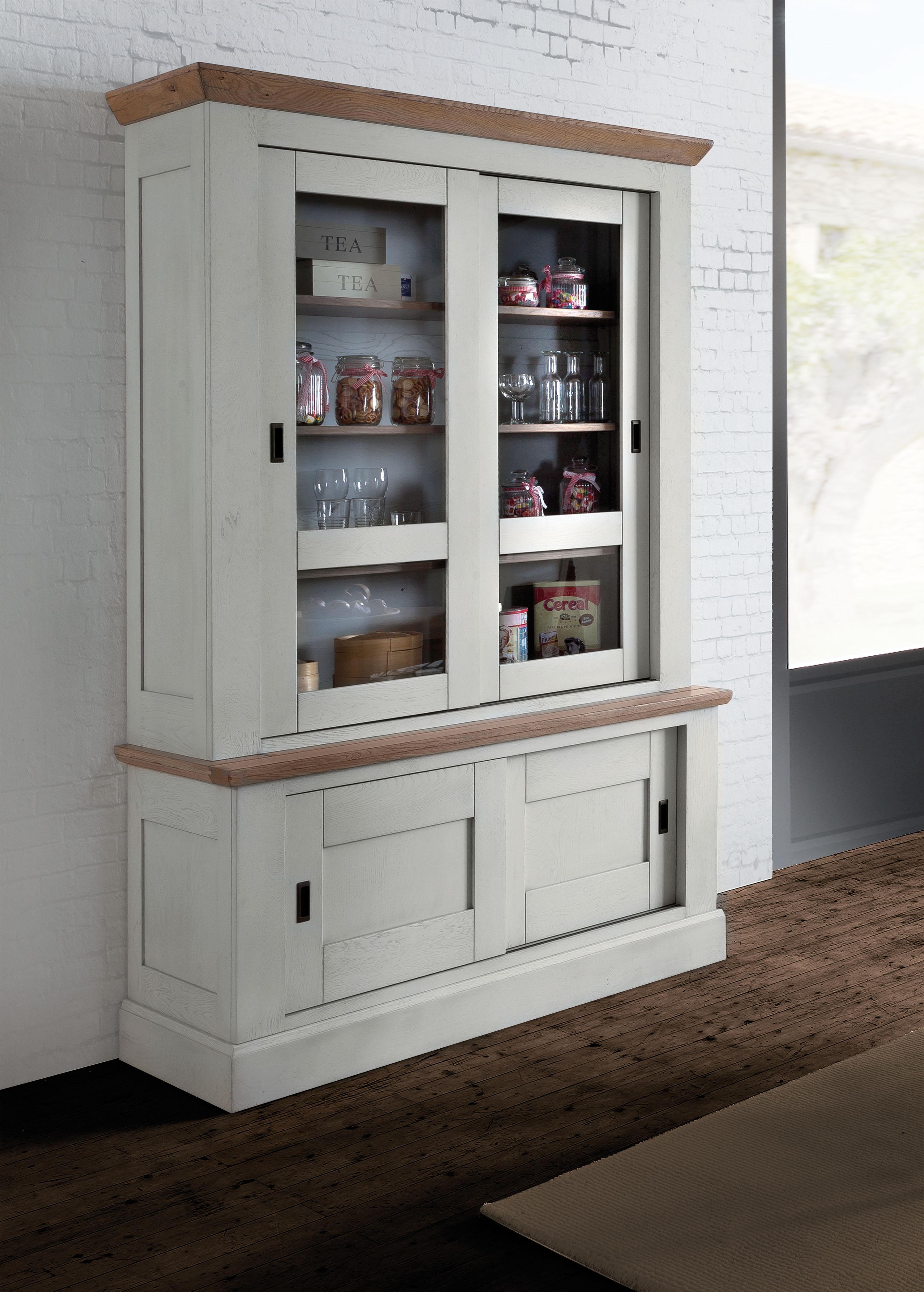 bahut 4 portes coulissantes all gra meubles turone. Black Bedroom Furniture Sets. Home Design Ideas