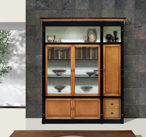 petite biblioth que h loise meubles turone. Black Bedroom Furniture Sets. Home Design Ideas