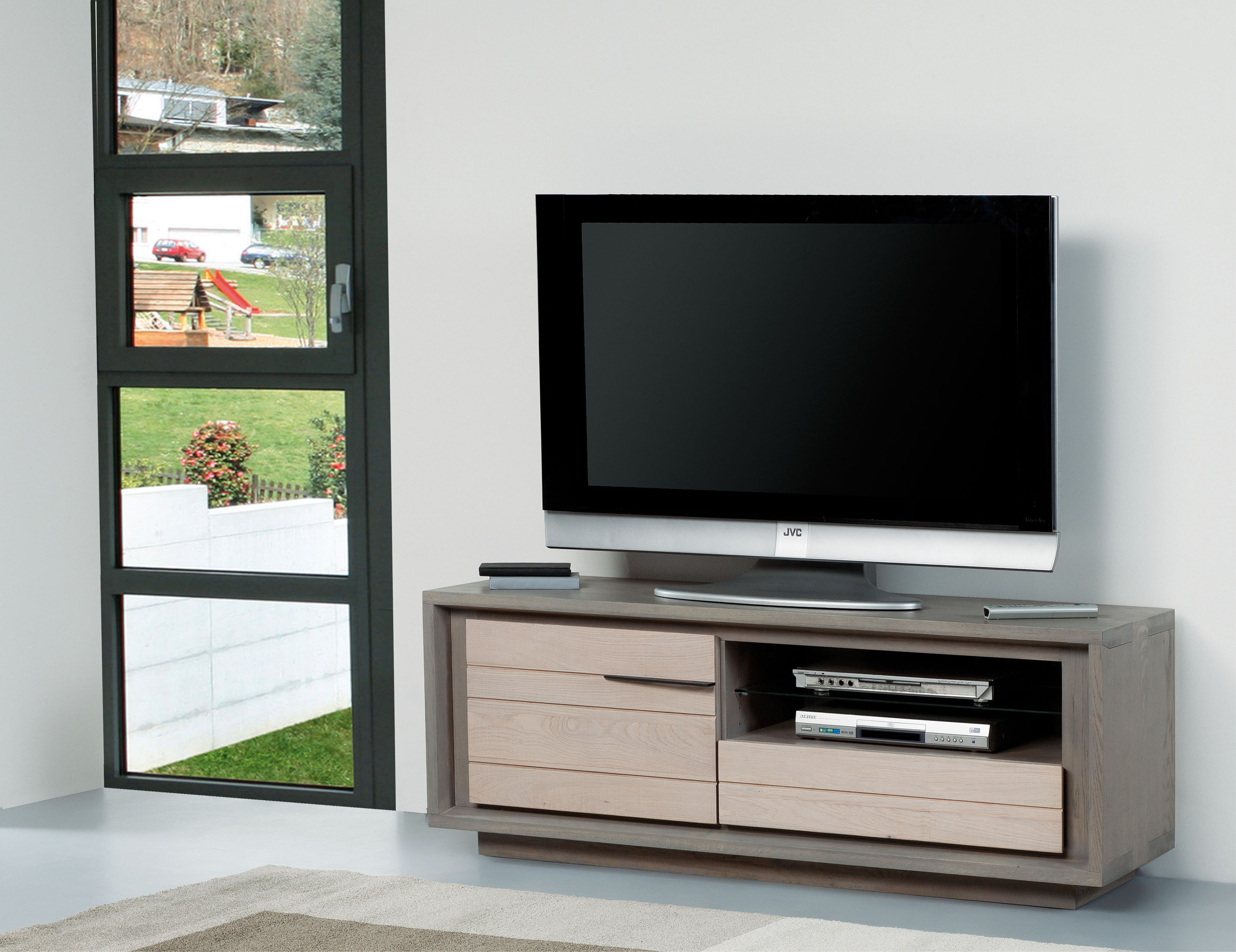Meubles turone meuble tv moderne merisier u artzeincom for Meuble turone