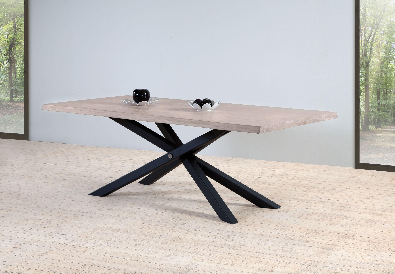 Table Pied Metal Zenith Meubles Turone