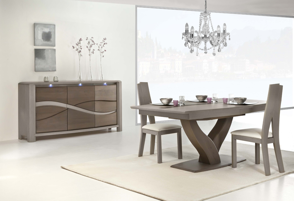 salle manger oc ane buffet table 4 chaises meubles turone. Black Bedroom Furniture Sets. Home Design Ideas