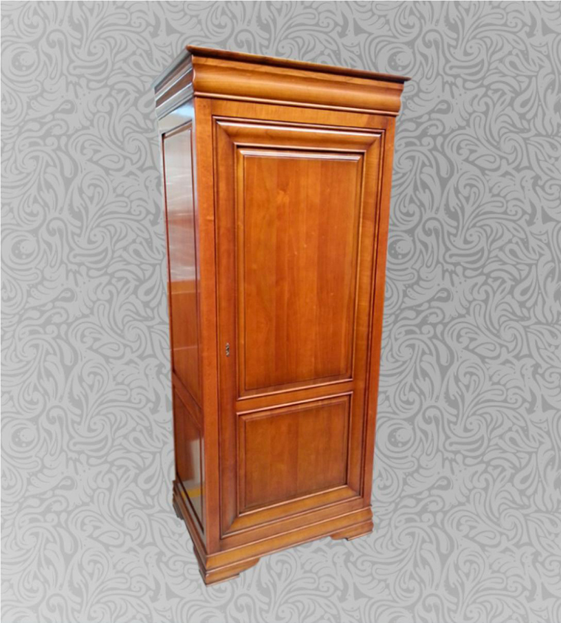 Meuble traditionnel armoire 1 porte am lie meubles turone for Meuble turone