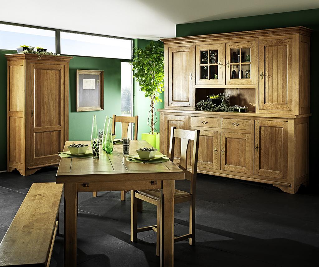 banc en ch ne massif rodez meubles turone. Black Bedroom Furniture Sets. Home Design Ideas